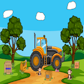 Giant Tractor Escape