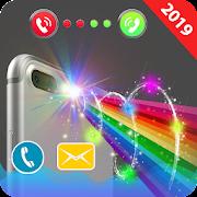 Color Flash on Call and SMS : Call flashling light