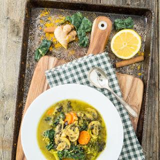 EAT YOUR GREENS DETOX SOUP