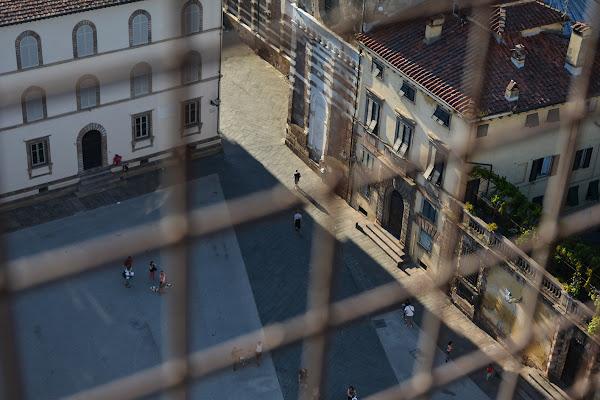 Piazza incarcerata di Podista