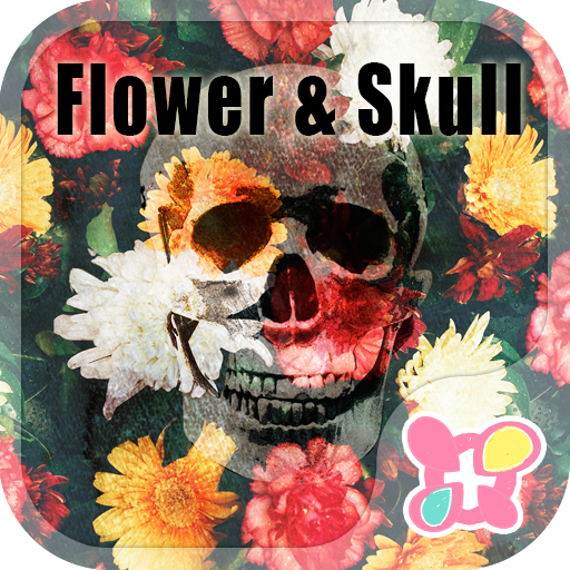 Cool Theme-Flower Skull- Icon