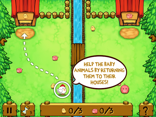 Animal Line Crossing - Guide The Animals Home screenshot 14
