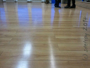 Photo: Look at this floor. Grateful to be dancing here.