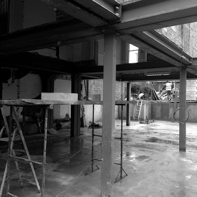 A Building in the Construction Process by Minniedale Projects