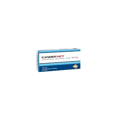 Candesartán + Hidroclorotiazida Cander Hct 8/12,5Mg X 30 Tabletas Valmor