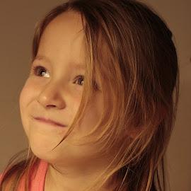 by Jennifer Storch - Babies & Children Child Portraits ( child, girl, hai, pink, smile )