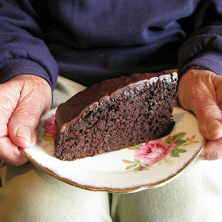 Chocolate Pear Cake.