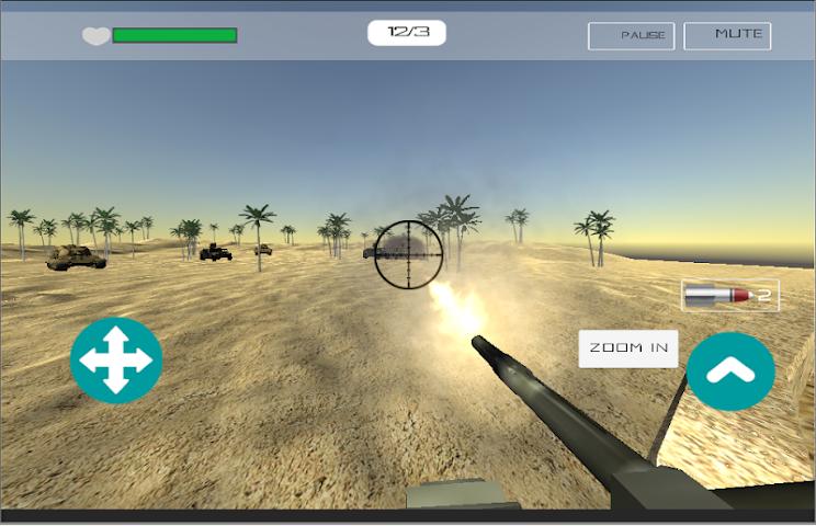 android Desert War Screenshot 1