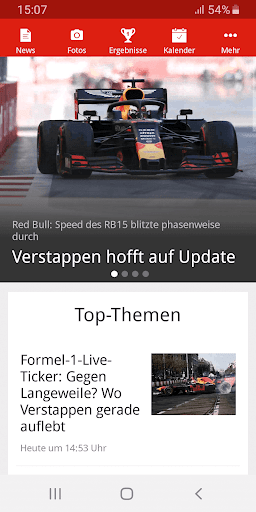 Formel1.de  screenshots 1