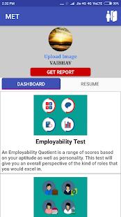 My Employability Test (MET) - náhled