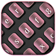 Simple Textured Pink Keyboard
