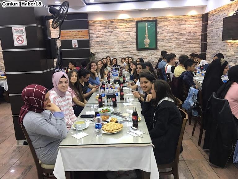 Çankırı Şehit Hasan Gülhan Cumhuriyet Anadolu Lisesi,Hacı Ali Dinlenme Tesisleri,Servet Sevindim,Çankırı İftar yemeği,