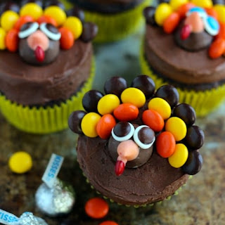 Turkey Cupcakes.