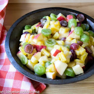 Fruit Salad With Apples And Grapes Recipes.