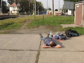 Photo: W Zgorzelcu chwilę odpoczywamy