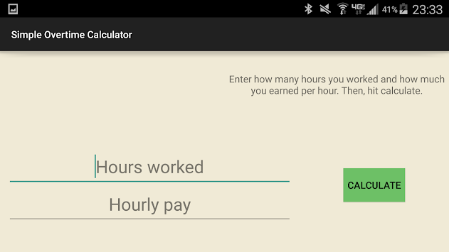 simple overtime calculator apk latest version download free tools