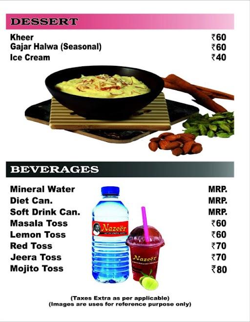 Nazeer Foods menu 6