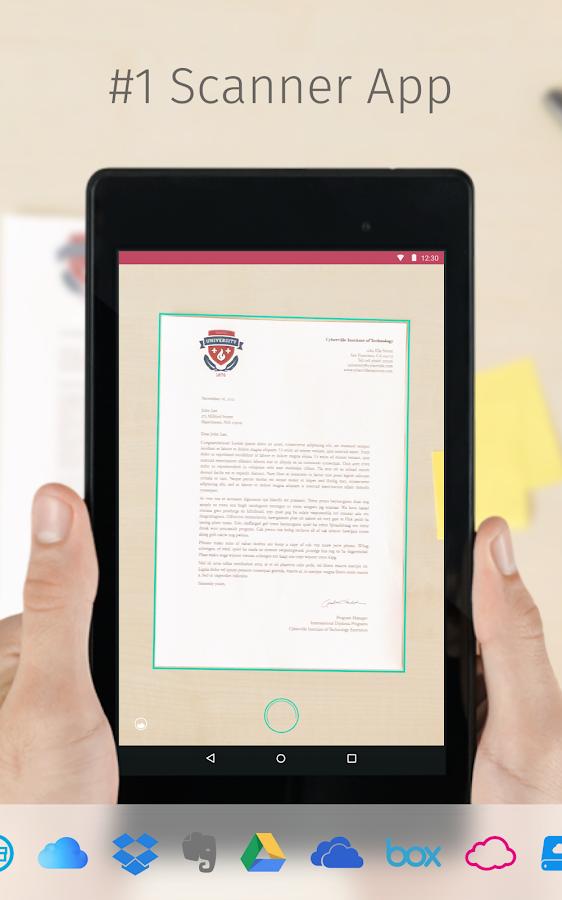 Scanbot - PDF Document Scanner- screenshot