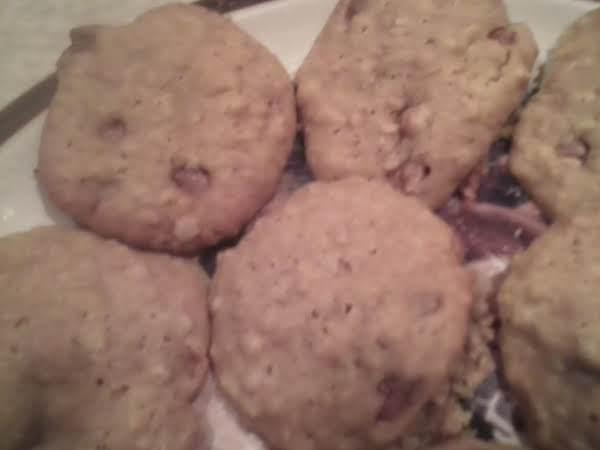 Banana, Oatmeal, Caramel Cookies