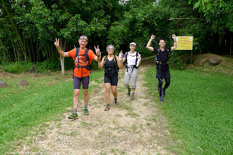 Photo: Yeah! we made it to the peak and safely return.