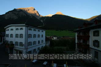 Photo: Sonnenaufgang am Piz Ela