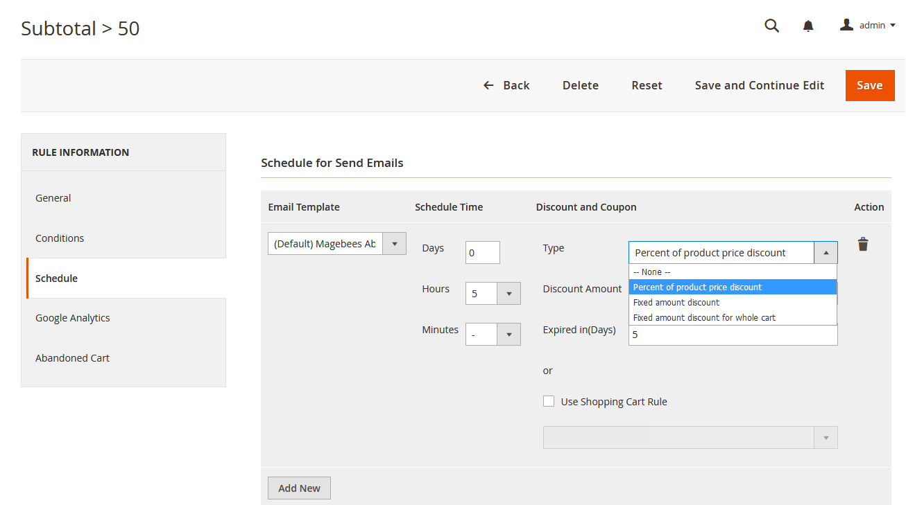 powerful Magento email marketing extension