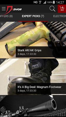 DVOR - screenshot