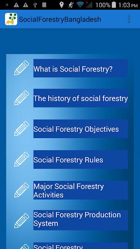 Social Forestry of Bangladesh