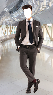 Casual Man Suit Photo Montage - náhled