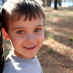 Little Boy Blue by Stephanie Munguia-Wharry - Novices Only Portraits & People ( happy, boy )