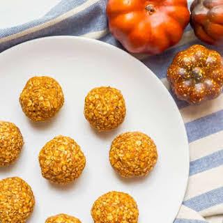 Pumpkin Protein Energy Balls.