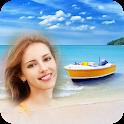 Seaside Beach Photo Frames icon