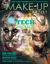 Photo: This is a cover concept I put together for issue 103 of Make-Up Artist magazine that ultimately was not used.