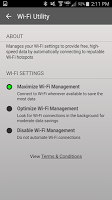 screenshot of Wi-Fi Utility