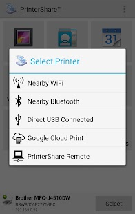 Mobile Print - PrinterShare Screenshot