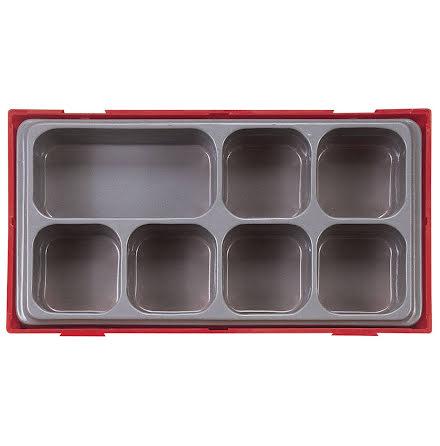 Förvaringsask med 7 fack Teng Tools TT01