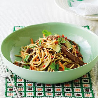 Beef And Noodle Salad With Sesame Dressing