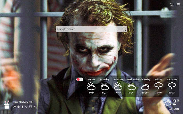 Joker film New Tab, Wallpapers HD
