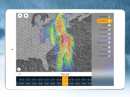 Ventusky: Weather Maps screenshot 12