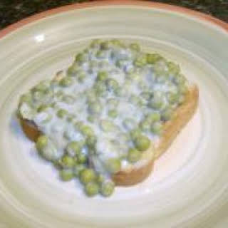 Creamed Peas With Canned Peas Recipes.