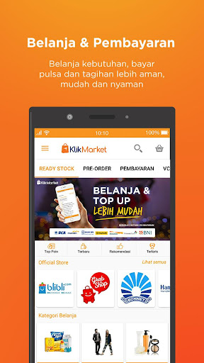KLIK Market screenshot