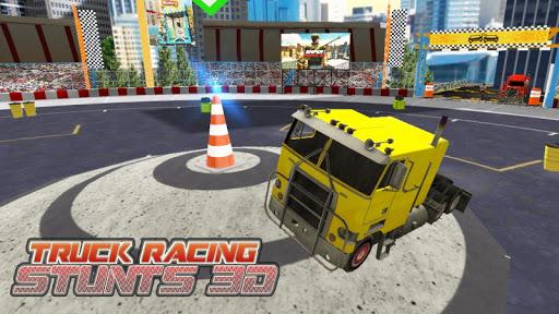 Truck Racing Stunts
