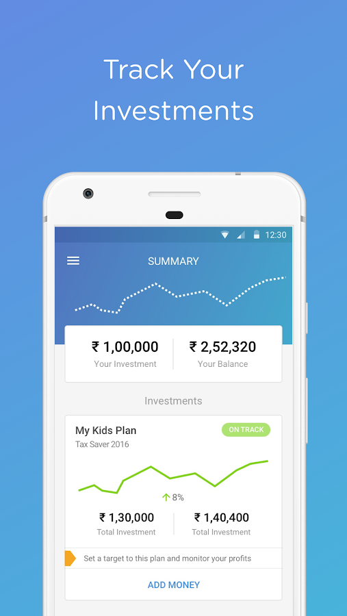 Wealthy | Smart way to invest- screenshot