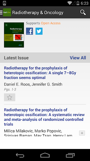 Radiotherapy Oncology