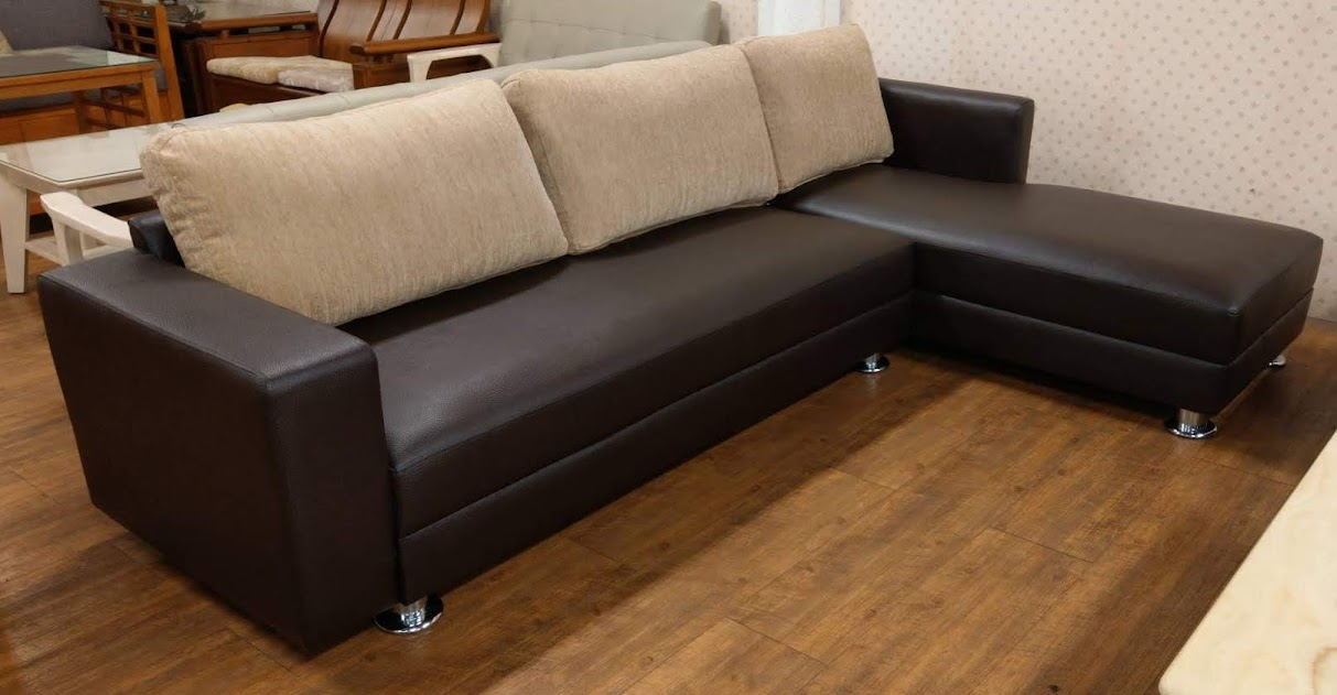610-17 水明 L型沙發