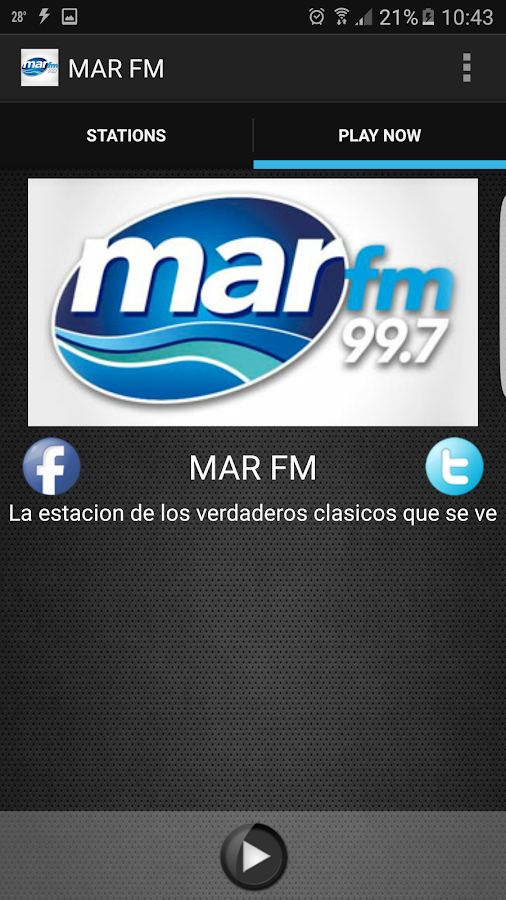 MAR FM- screenshot