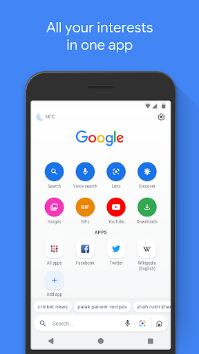 Google Go: A lighter, faster way to search screenshots 1