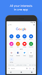 screenshot of Google Go: A lighter, faster way to search