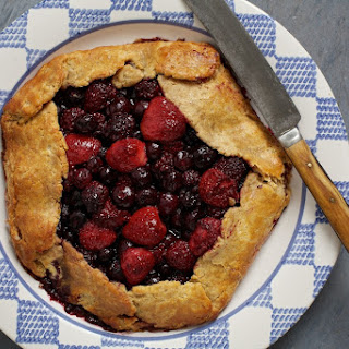 Mixed-Berry Galette.