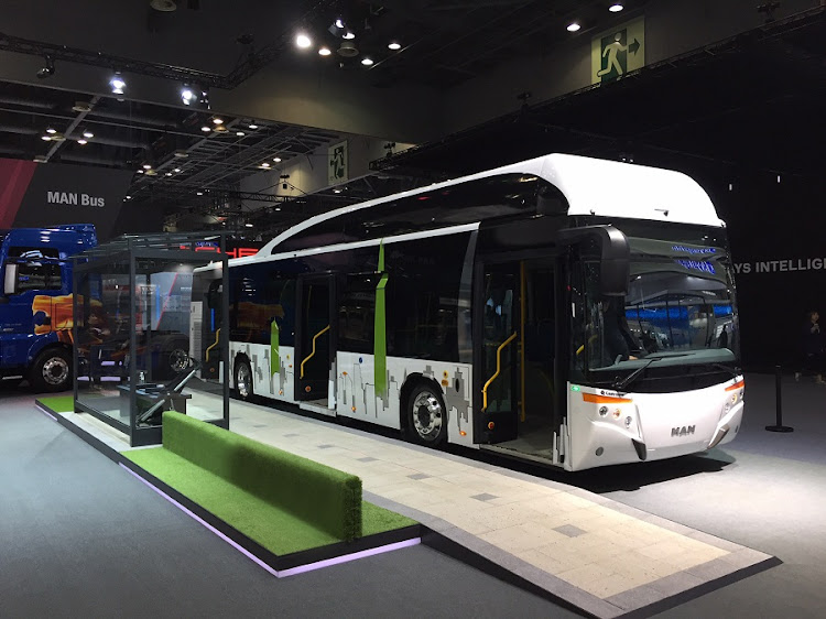 The company also revealed a new double-decker based on the RR4 chassis at the Seoul Motor Show. Picture: MAN TRUCK AND BUS